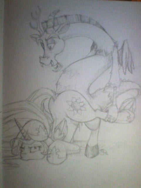 my inky rose little pony Six of one tripping the rift