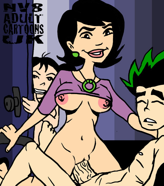 stacey spud american long and dragon jake Krillin and 18 have sex