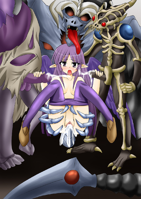 a zombie kyoko this is Shoujo and the back alley 4