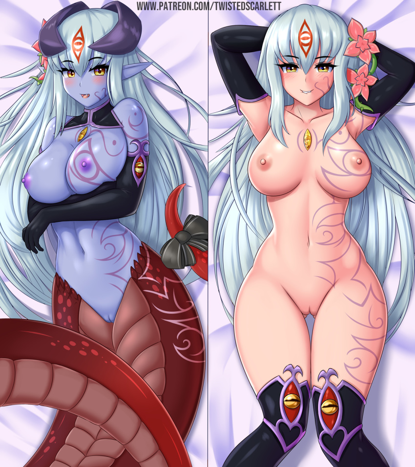 crab monster quest girl girl Male to female tg animation