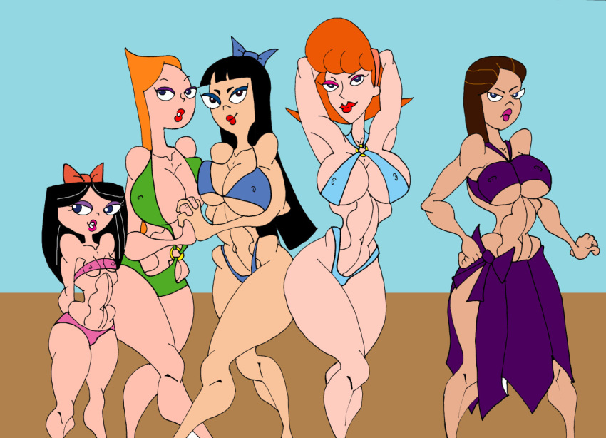 isabella swimsuit phineas ferb and Final fantasy mystic quest phoebe