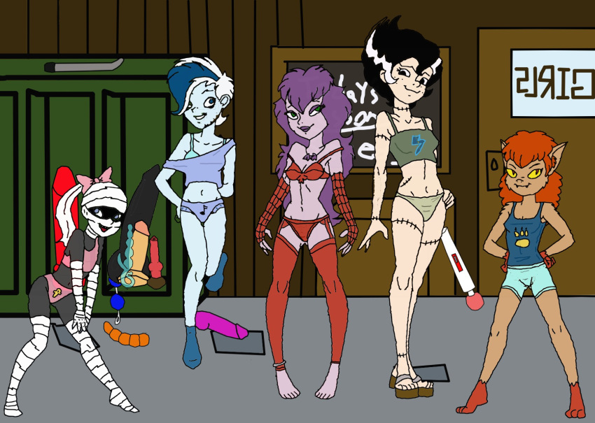 and reluctant the werewolf doo scooby googie Vicky fairly odd parents naked
