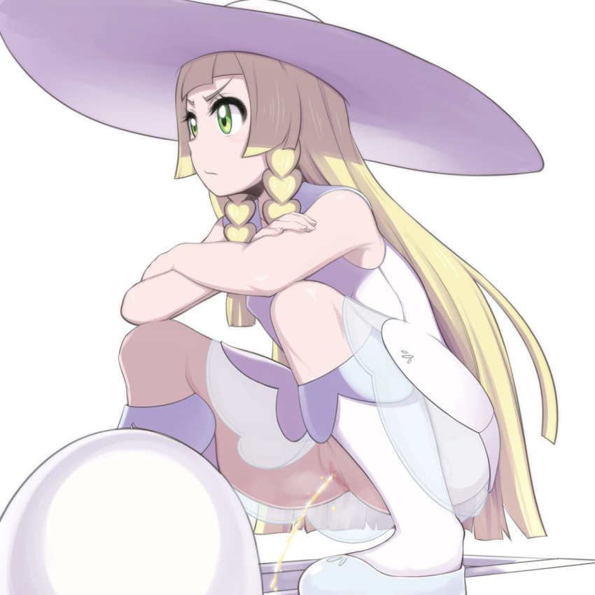 pokemon is old how lillie My hero academia invisible girl makeup