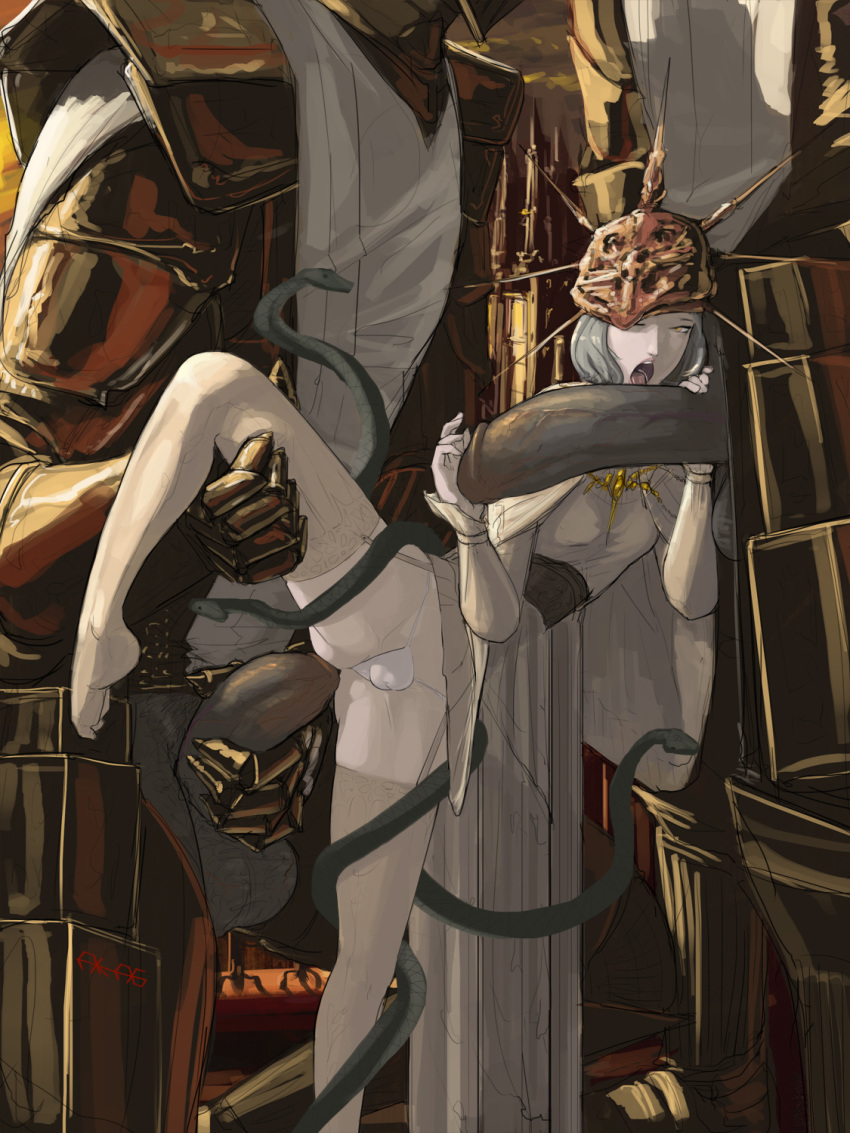 2 dark ruin souls sentinel French maid beauty and the beast
