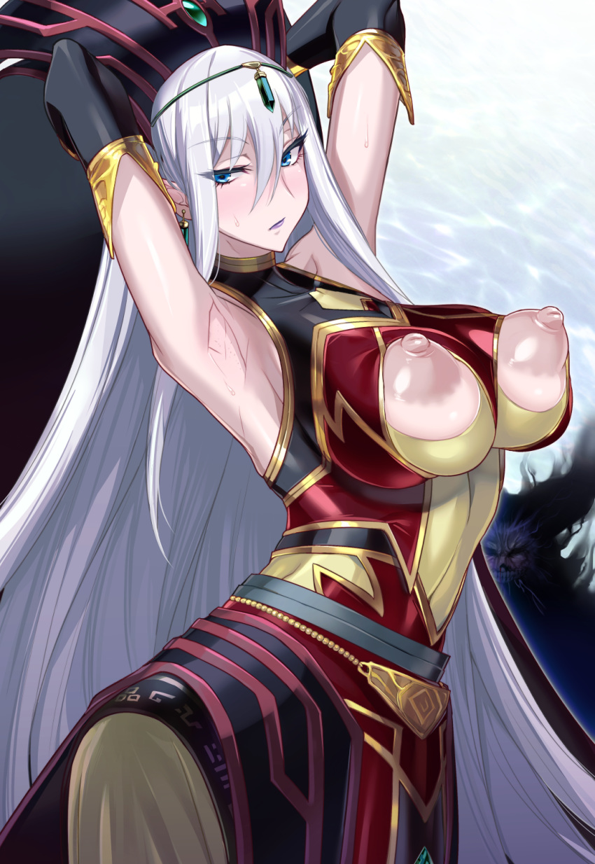 sheba fate go of queen Tarot witch of the black rose nude